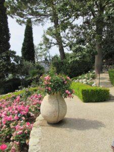 Der Rosengarten von Villa Ephrussi de Rothschild