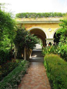 Garten der Villa Ephrussi-Rothschild