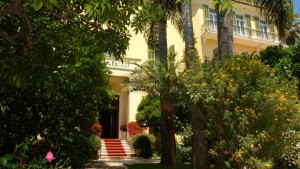 Hotel Villa Elisa. Bordighera. Urlaub an der Blumenriviera
