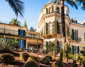 Hotel Villa Sylva. San Remo. Ligurien. 350 m vom ligurischen Meer entfernt