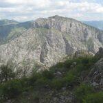 Monte Toraggio in den ligurischen Alpen an der italienischen Riviera