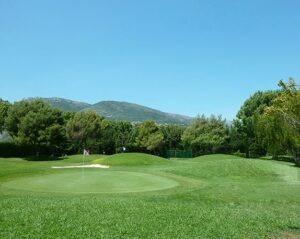 9- Loch-Anlage des Golf und Country Clubs Nizza