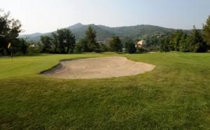 Golfclub Garlenda in Ligurien an der italienischen Riviera