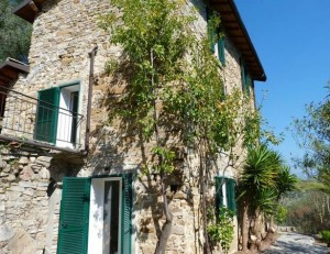 Terra Italia. Romantisches Landhaus bei Dolceacqua