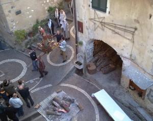 Rochetta Nervina. Prozession zu Ehren Heiligen Stephanus