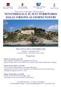 Ventimiglia und seine Umgebung vom Anfang bis heute