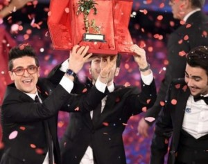 """Il Volo. Die drei Sieger mit dem Song mit """"Grande Amore"""""""