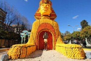 82. Zitronenfest in Menton 2015