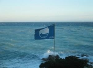 Bordighera bekommt wieder die Bandiera Blue 2015