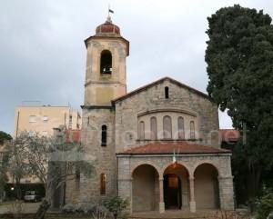 Die Englische Kirche in Bordighera an der Blumenriviera