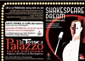 Bordighera an der Blumenrivier. Theater im Palazzo del Parco