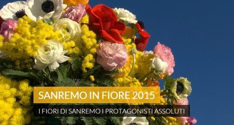 Blumenkorso in San Remo am 8. März 2015