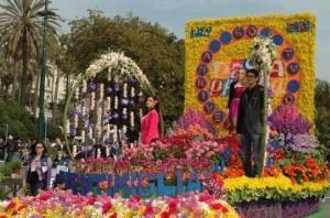 Blumenkorso San Remo am 8. März
