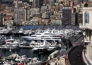Grosser Preis von Monaco an der Côte d'Azur