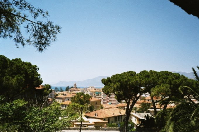 Bordighera. Westligurien