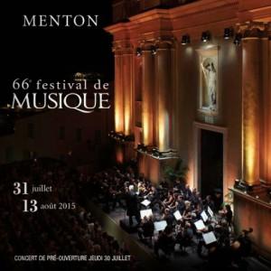Menton. 66. Festival de Musique