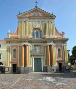 Barockkirche Sant'Antonio Abate. Dolceacqua