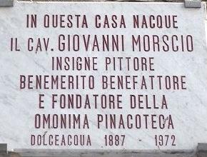 Dolceacqua. Geburtshaus von Giovanni Morscio