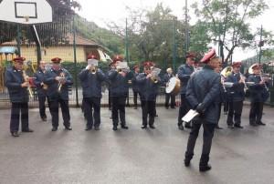 Prinz Albert II. besucht Dolceacqua