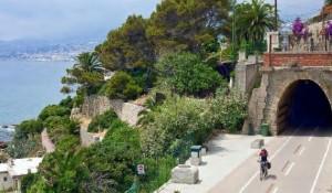 von Ospedaletti nach San Remo an der Blumenriviera