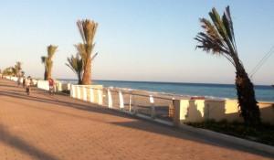 von Vallecrosia nach Bordighera an der italienischen Riviera