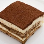 Das Dessert Tiramisu