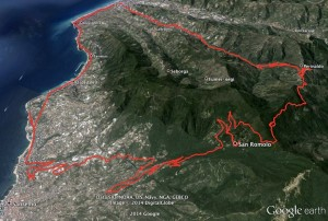 Urlaub an der italienischen Riviera mit dem Rad