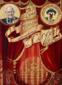 Zirkusfestival Monaco vom 14.-24. Januar 2016
