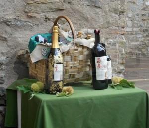 Eine Flasche mit 3 Litern Rossese di Dolceacqua
