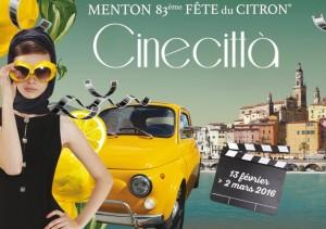 Menton an der Côte d'Azur 83. Zitronenfest 2016