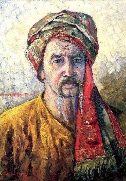 Selbstbildnis von Roman Bilinski.