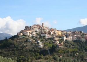 Perinaldo. Hinterland der italienischen Riviera
