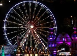 Weihnachtsdorf von Monaco.