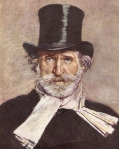 Giuseppe Verdi. Italienischer Komponist. 1813-1901