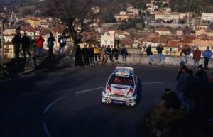 Die Rallye von Monte Carlo an der Côte d'Azur 2016