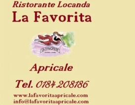 Restaurant La Favorita in Apricale