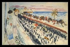 Henri Matisse Karneval in Nizza Kunstdruck