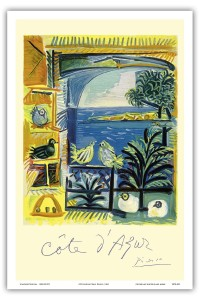 Die Tauben an der Côte d'Azur von Pablo Picasso