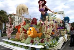 Riva Ligure bekommt den zweiten Preis mit der kleinen Meerjungfrau