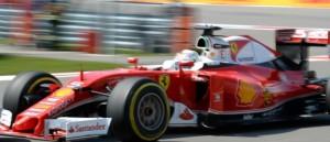 Sebastian Vettel Ferrari Platz 4