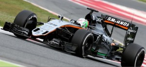 Sergio Perez Sahara Forde India Platz 3