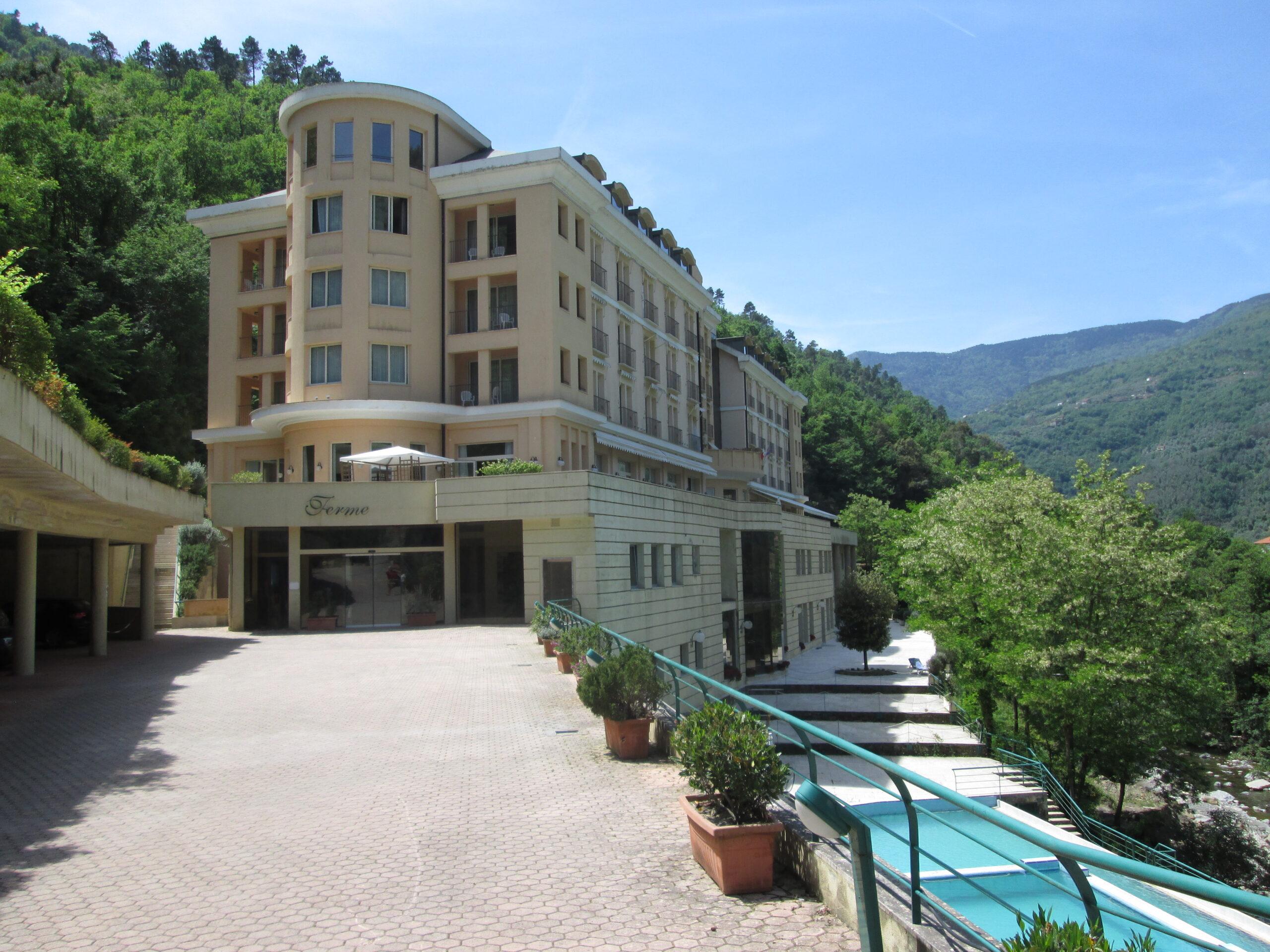 die Terme von Pigna mit Grandhotel