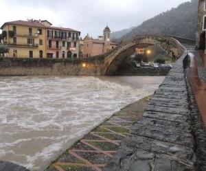 Hochwasser in Dolceacqua
