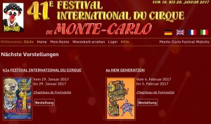 41. Internationales Zirkusfestival von Monte Carlo