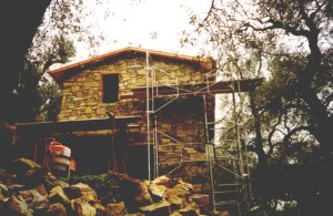 Baubeginn von Casa Rochin in Dolceacqua