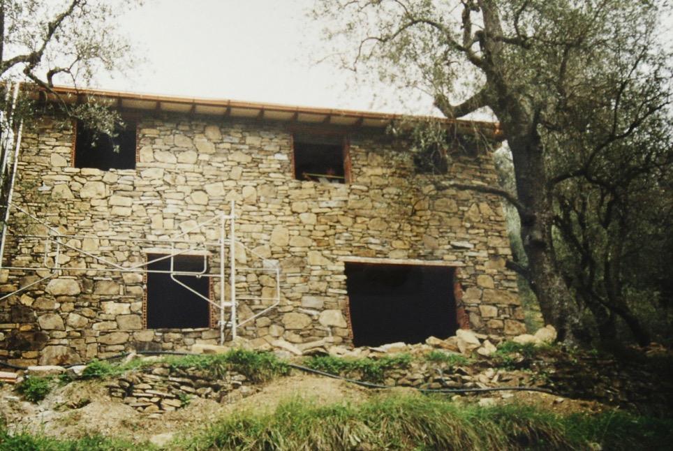 so entsteht unser Ferienhaus in Dolceacqua