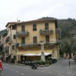 auf der Terrasse in Dolceacqua