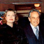 1974 Ankunft von Prinzessin Grace und Prinz Rainier III von Monaco zum ersten internationalen Zirkusfestival