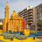 Zitronenfest an der franzoesischen Riviera