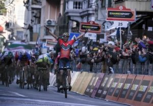 Der Sieger Vincenzo Nibali